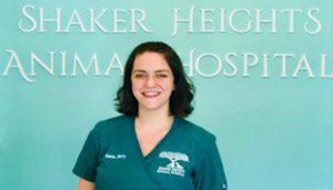 veterinary staff member Katie at Shaker Heights Animal Hospital