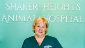 veterinary staff member Laura at Shaker Heights Animal Hospital