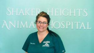 veterinary staff member Sam at Shaker Heights Animal Hospital